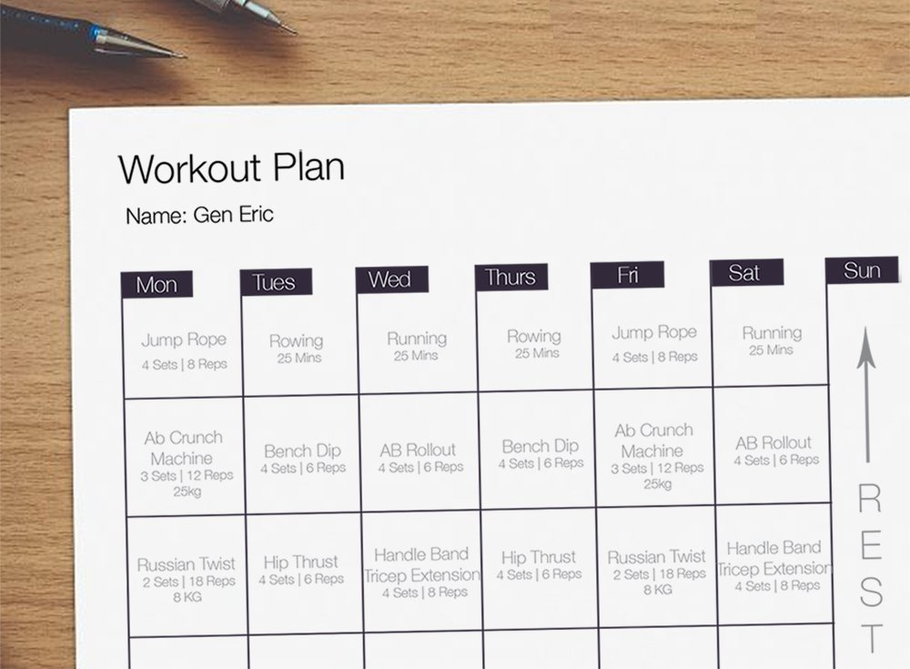 Are you following someone else's exercise programme?